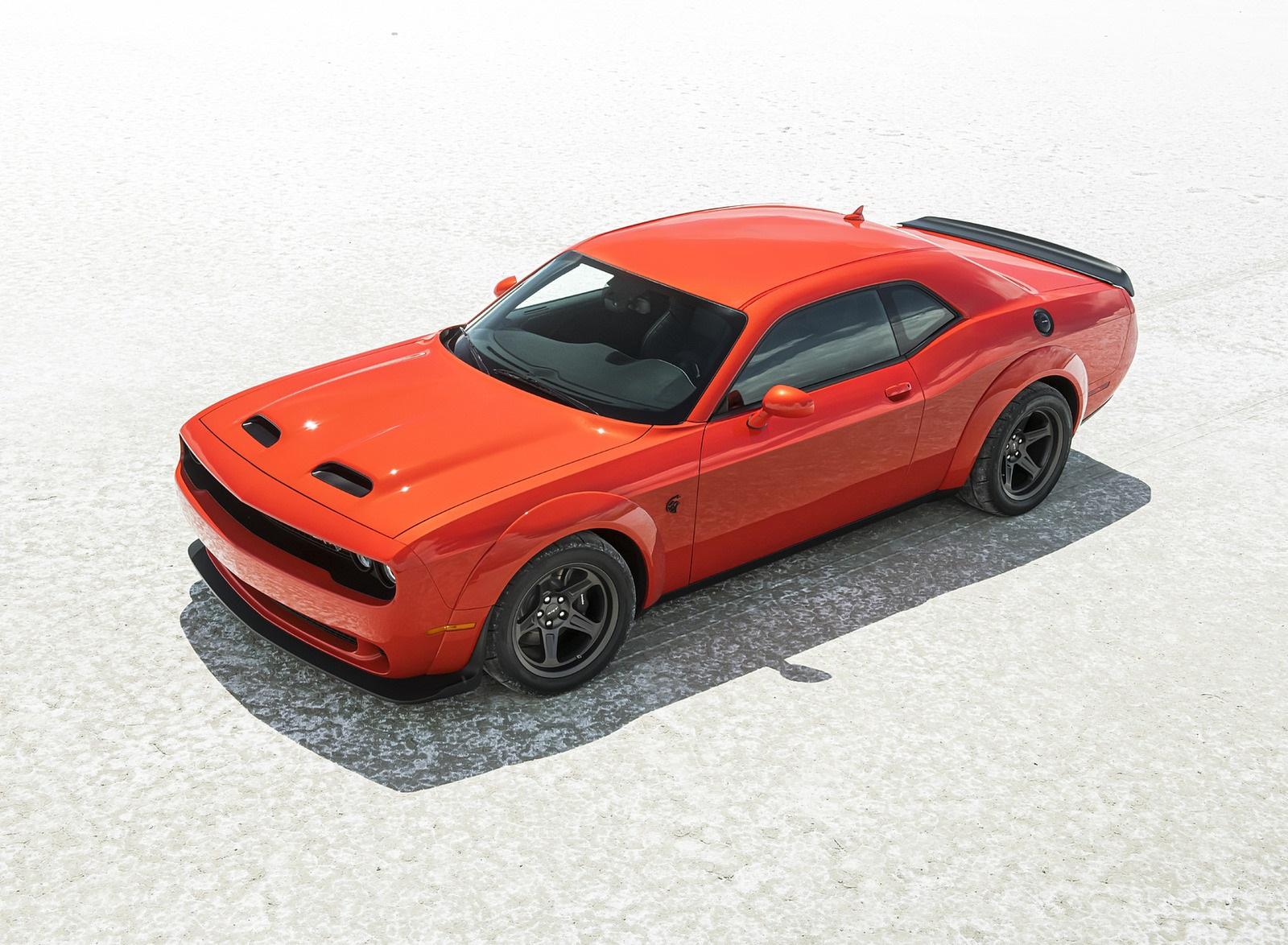 2020 Dodge Challenger SRT Super Stock Front Three-Quarter Wallpapers (9)