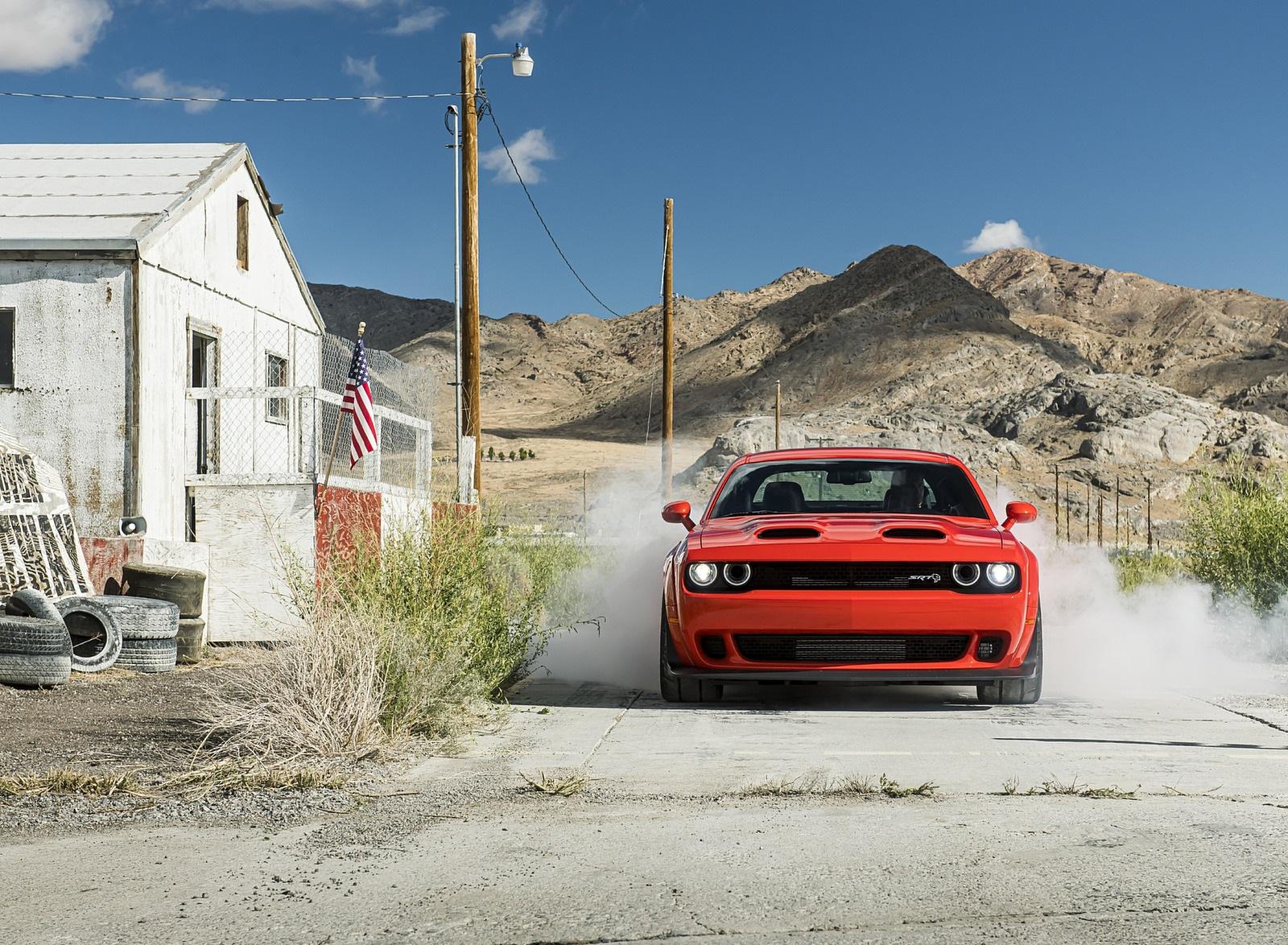 2020 Dodge Challenger SRT Super Stock Front Wallpapers (7)