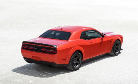 2020 Dodge Challenger SRT Super Stock Rear Three-Quarter Wallpapers 450x275 (14)