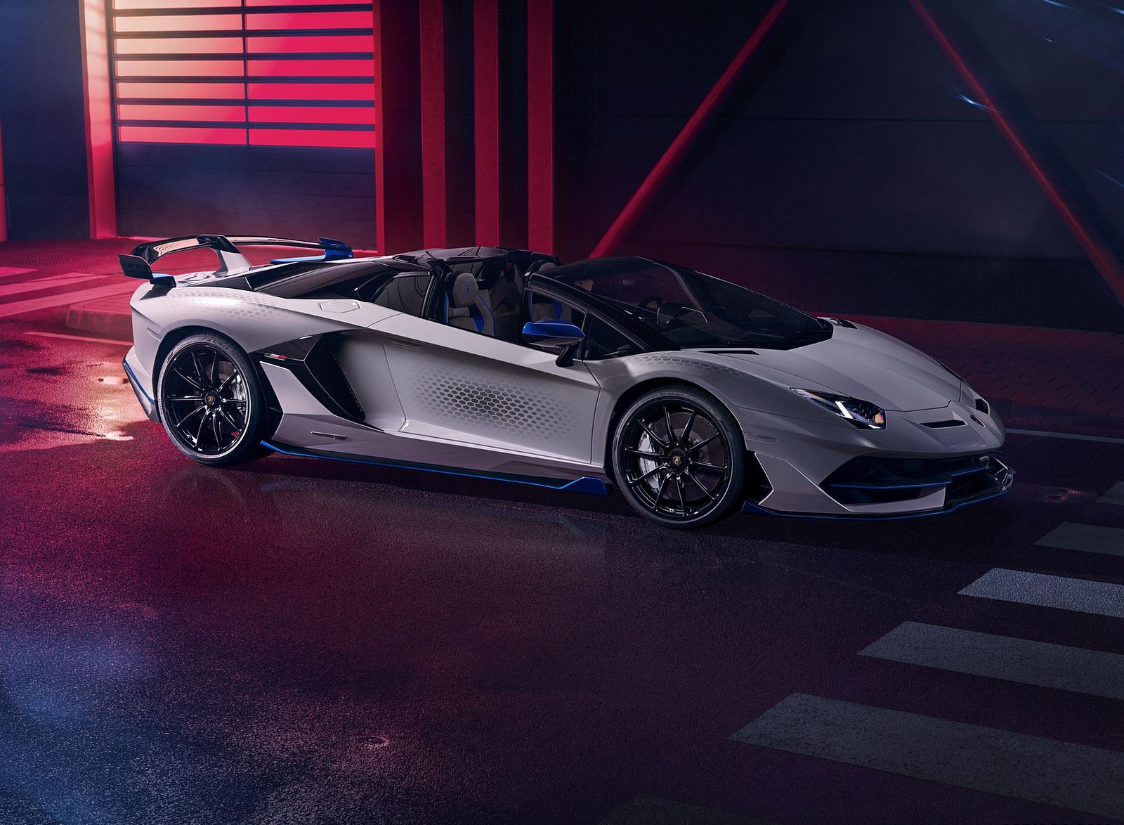 2020 Lamborghini Aventador SVJ Xago Edition Front Three-Quarter Wallpapers (2)