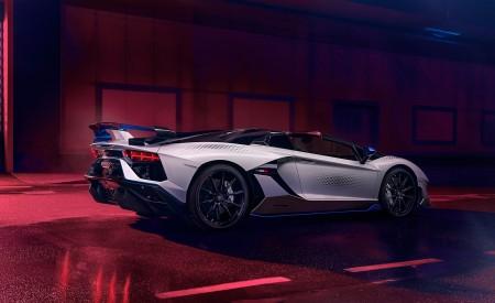 2020 Lamborghini Aventador SVJ Xago Edition Rear Three-Quarter Wallpapers 450x275 (4)