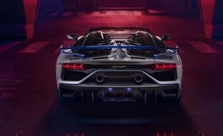 2020 Lamborghini Aventador SVJ Xago Edition Rear Wallpapers 450x275 (5)