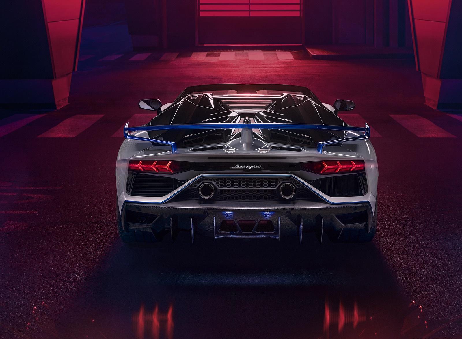 2020 Lamborghini Aventador SVJ Xago Edition Rear Wallpapers (5)