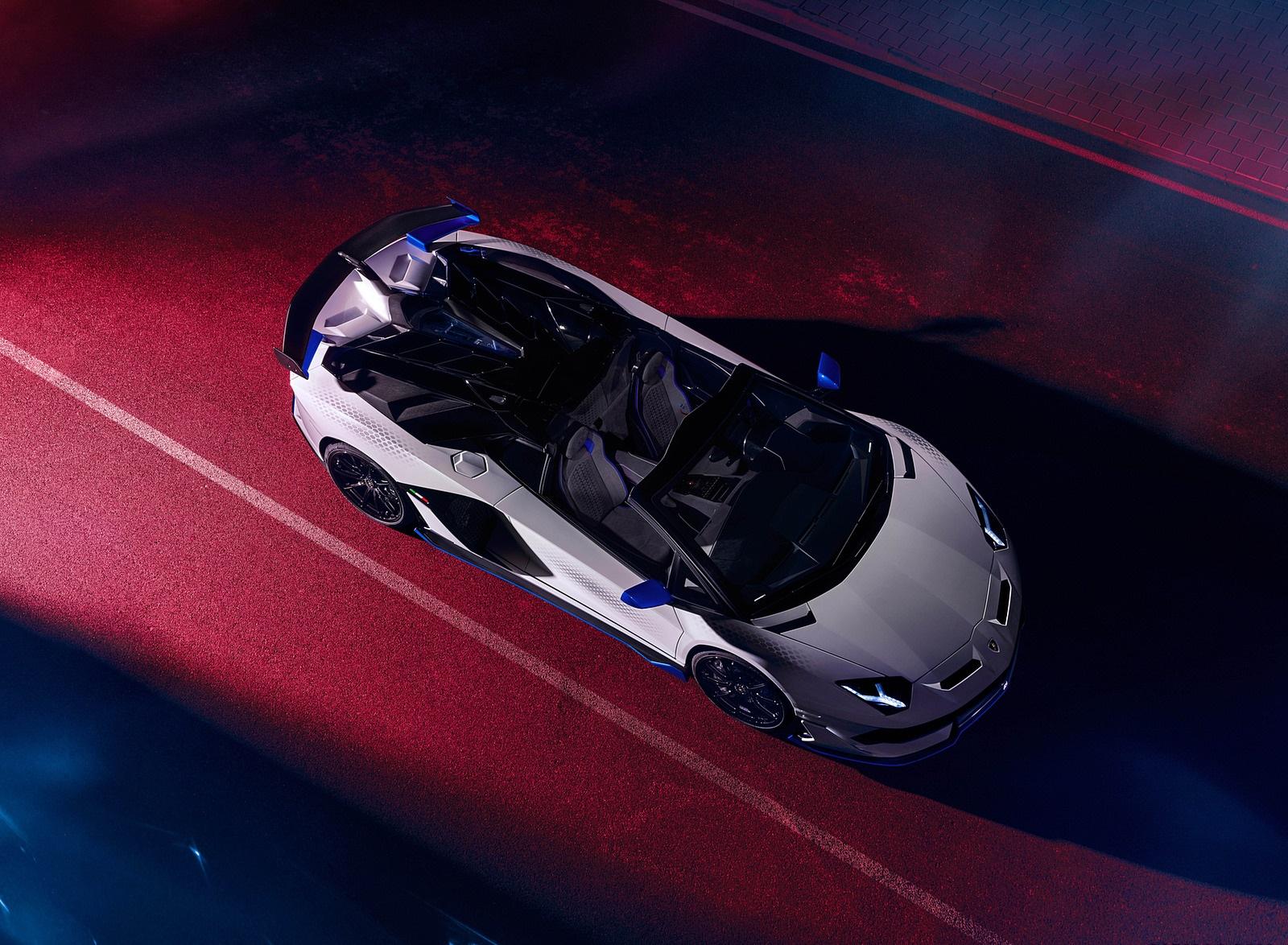 2020 Lamborghini Aventador SVJ Xago Edition Top Wallpapers (7)
