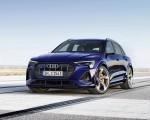 2021 Audi e-tron S (Color: Navarra Blue) Front Wallpapers 150x120 (3)