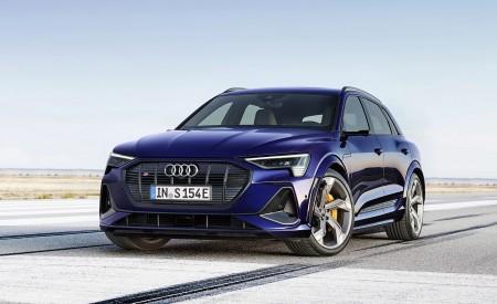 2021 Audi e-tron S (Color: Navarra Blue) Front Wallpapers 450x275 (3)