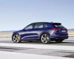 2021 Audi e-tron S (Color: Navarra Blue) Rear Three-Quarter Wallpapers 150x120 (5)