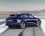2021 Audi e-tron S (Color: Navarra Blue) Rear Three-Quarter Wallpapers 150x120 (4)