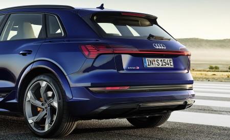 2021 Audi e-tron S (Color: Navarra Blue) Rear Wallpapers 450x275 (8)