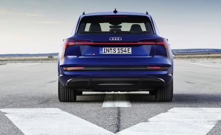 2021 Audi e-tron S (Color: Navarra Blue) Rear Wallpapers 450x275 (6)
