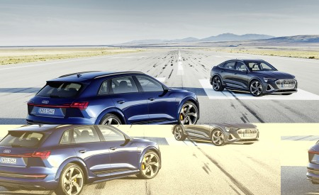 2021 Audi e-tron S (Color: Navarra Blue) and e-tron S Sportback Wallpapers 450x275 (7)