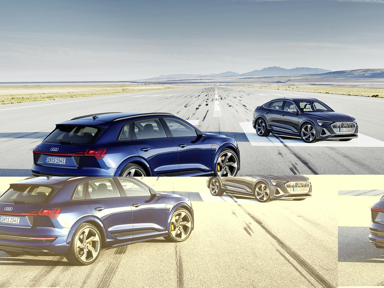 2021 Audi e-tron S (Color: Navarra Blue) and e-tron S Sportback Wallpapers (7)