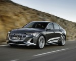 2021 Audi e-tron S Sportback (Color: Daytona Gray) Front Three-Quarter Wallpapers  150x120 (11)