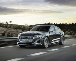 2021 Audi e-tron S Sportback (Color: Daytona Gray) Front Three-Quarter Wallpapers  150x120 (4)