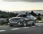 2021 Audi e-tron S Sportback (Color: Daytona Gray) Front Three-Quarter Wallpapers 150x120 (7)