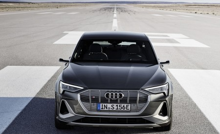 2021 Audi e-tron S Sportback (Color: Daytona Gray) Front Wallpapers 450x275 (8)