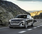 2021 Audi e-tron S Sportback (Color: Daytona Gray) Front Wallpapers 150x120 (1)