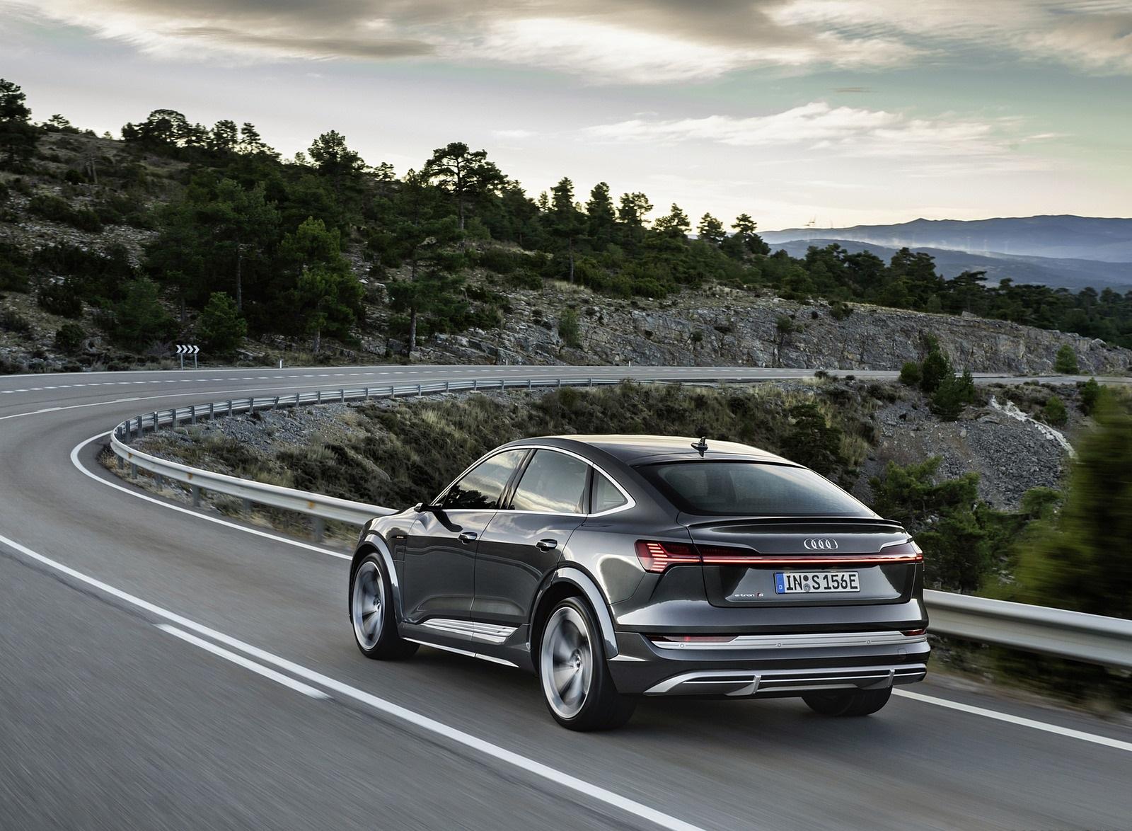 2021 Audi e-tron S Sportback (Color: Daytona Gray) Rear Three-Quarter Wallpapers  (9)