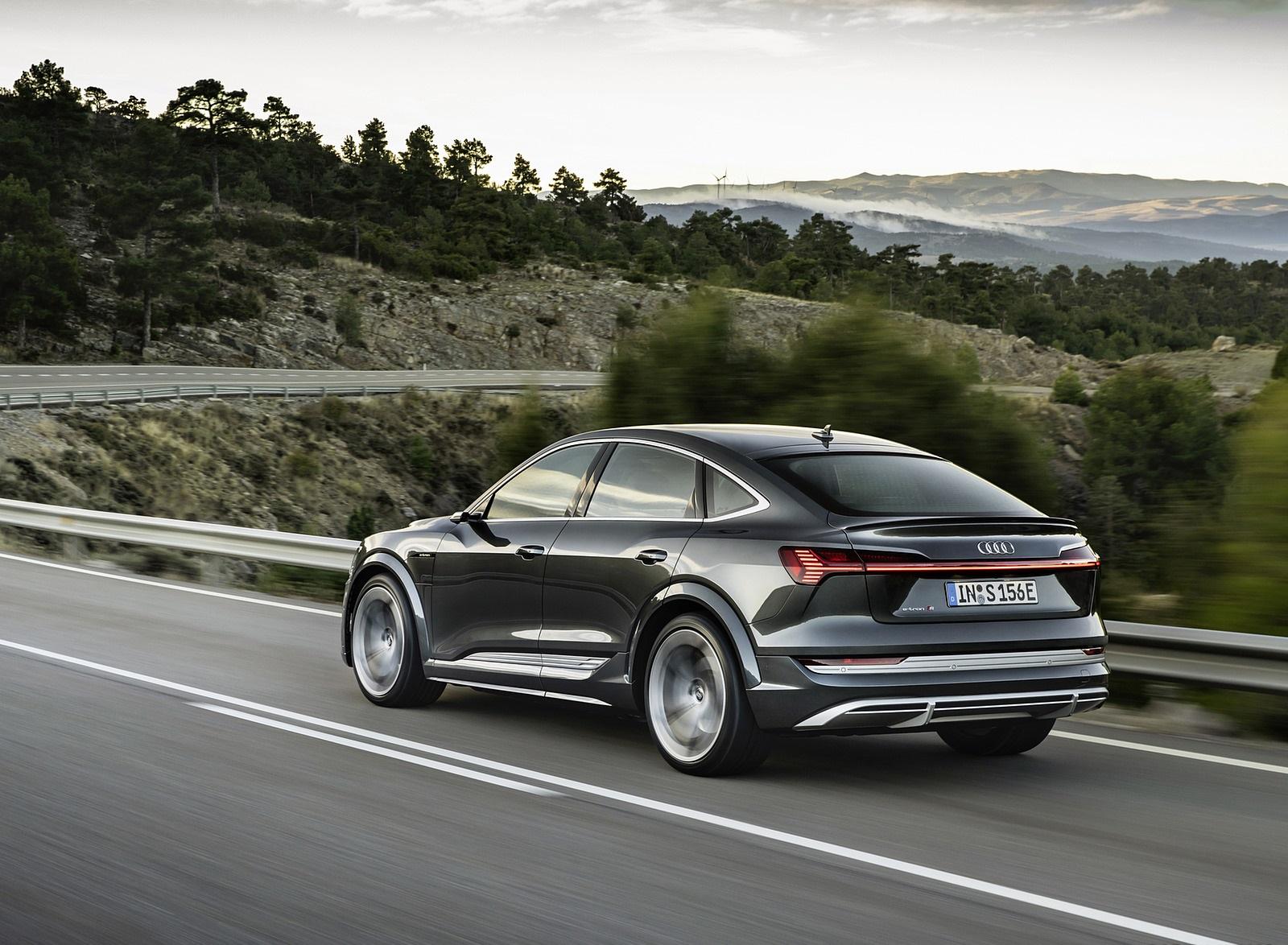 2021 Audi e-tron S Sportback (Color: Daytona Gray) Rear Three-Quarter Wallpapers (10)