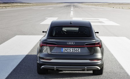 2021 Audi e-tron S Sportback (Color: Daytona Gray) Rear Wallpapers 450x275 (6)