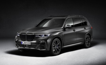 2021 BMW X7 Dark Shadow Edition Wallpapers HD