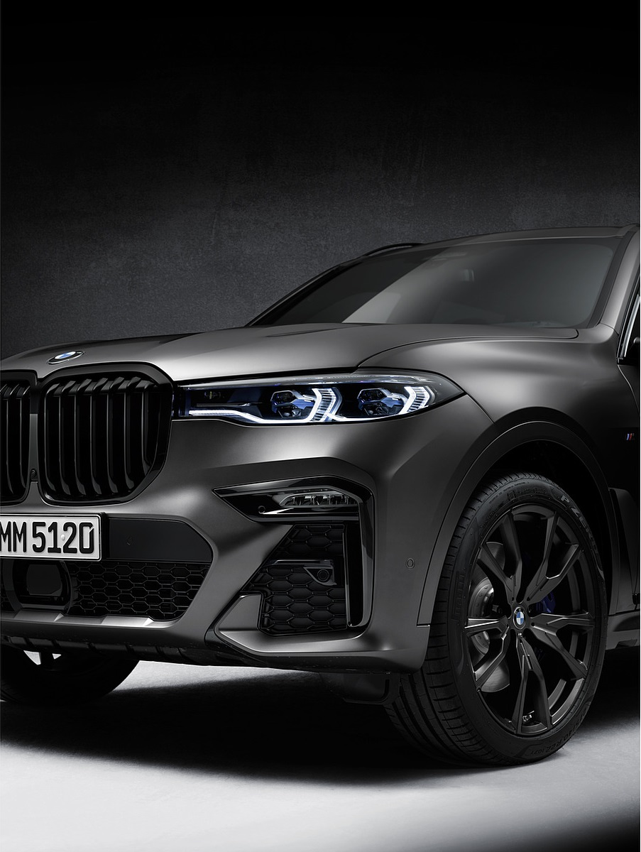 2021 BMW X7 Dark Shadow Edition Headlight Wallpapers (7)