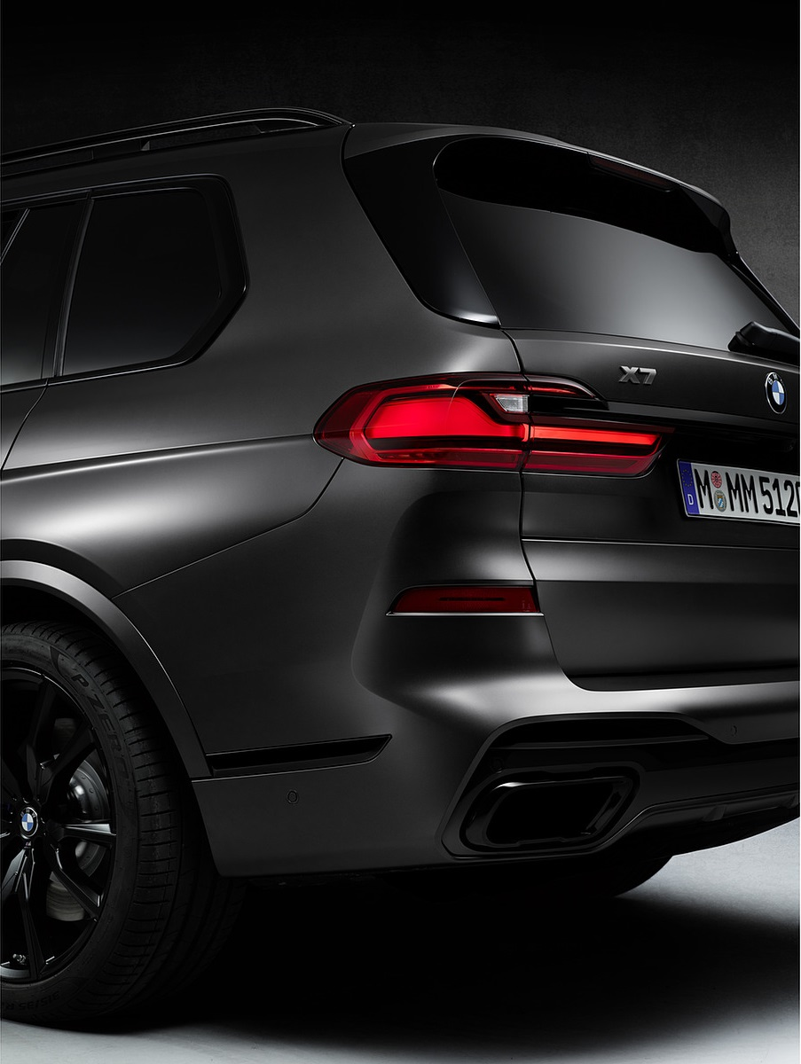 2021 BMW X7 Dark Shadow Edition Tail Light Wallpapers (8)