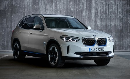 2021 BMW iX3 Front Three-Quarter Wallpapers 450x275 (42)