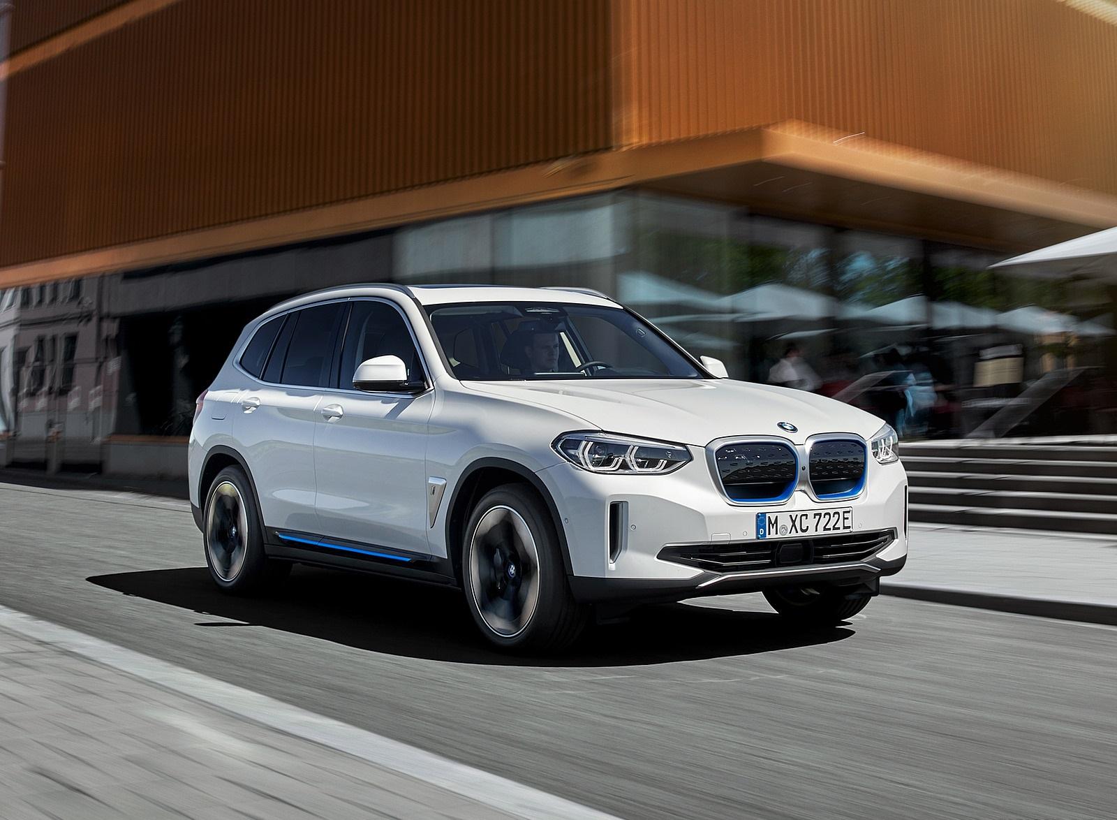 2021 BMW iX3 Front Three-Quarter Wallpapers (1)