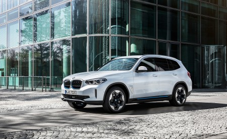 2021 BMW iX3 Front Three-Quarter Wallpapers 450x275 (35)