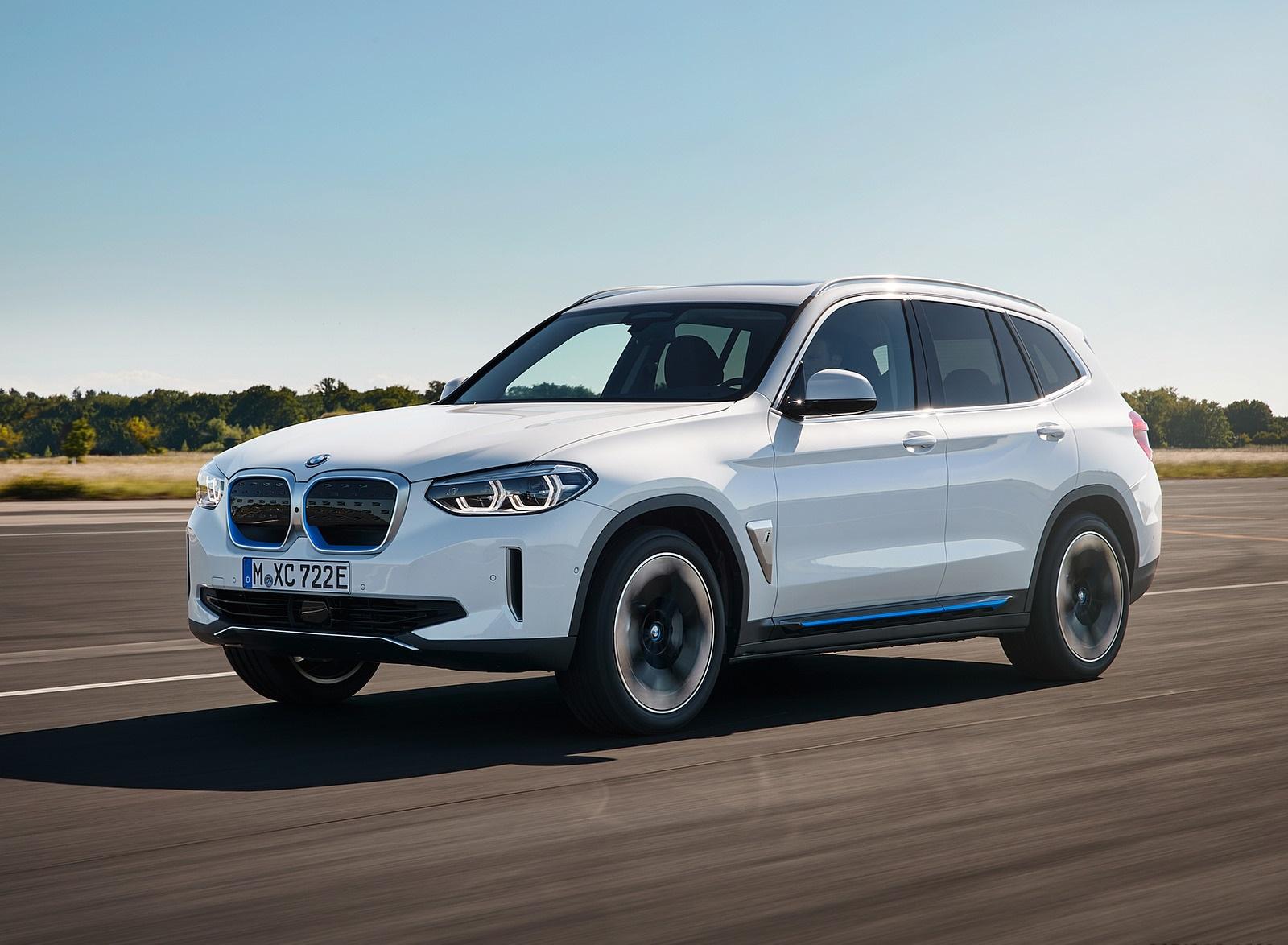 2021 BMW iX3 Front Three-Quarter Wallpapers (2)