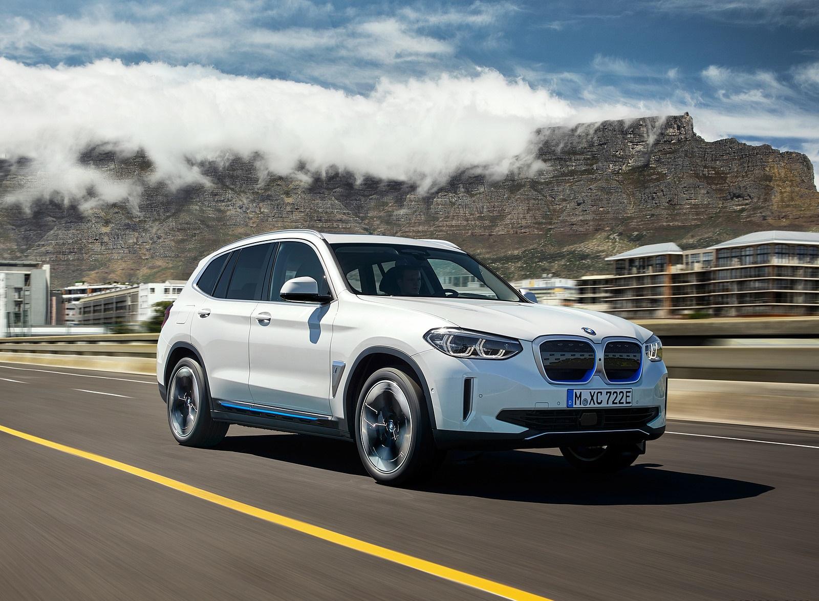 2021 BMW iX3 Front Three-Quarter Wallpapers (3)