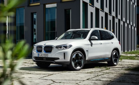 2021 BMW iX3 Front Three-Quarter Wallpapers 450x275 (29)