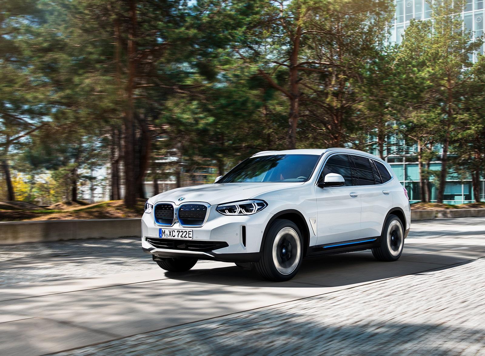 2021 BMW iX3 Front Three-Quarter Wallpapers (4)