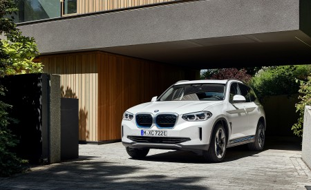 2021 BMW iX3 Front Wallpapers 450x275 (30)