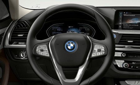 2021 BMW iX3 Interior Steering Wheel Wallpapers 450x275 (45)