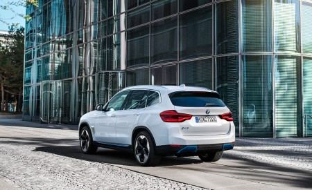2021 BMW iX3 Rear Three-Quarter Wallpapers 450x275 (38)