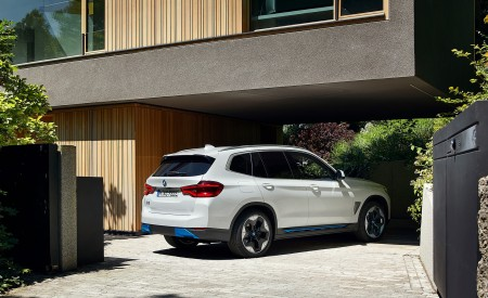 2021 BMW iX3 Rear Three-Quarter Wallpapers 450x275 (21)