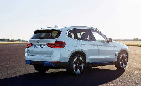 2021 BMW iX3 Rear Three-Quarter Wallpapers 450x275 (14)