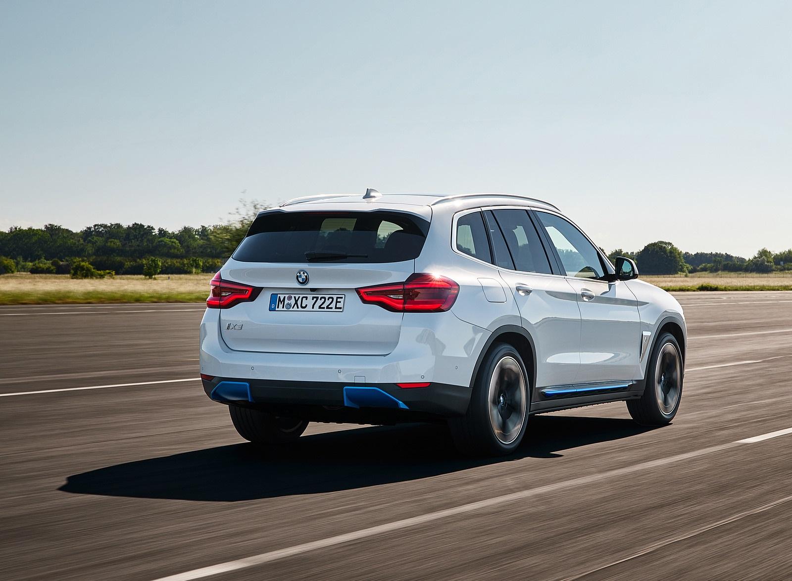 2021 BMW iX3 Rear Three-Quarter Wallpapers (9)