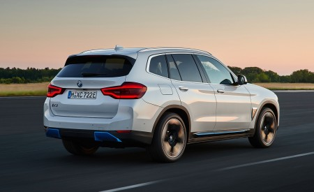 2021 BMW iX3 Rear Three-Quarter Wallpapers 450x275 (5)