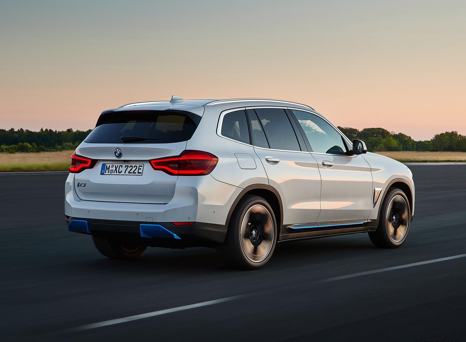 2021 BMW iX3 Rear Three-Quarter Wallpapers (5)
