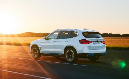 2021 BMW iX3 Rear Three-Quarter Wallpapers 450x275 (10)