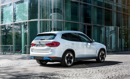 2021 BMW iX3 Rear Three-Quarter Wallpapers 450x275 (41)