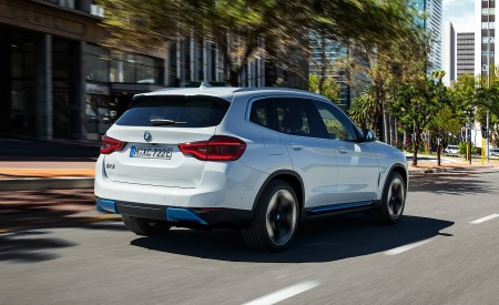 2021 BMW iX3 Rear Three-Quarter Wallpapers 450x275 (11)