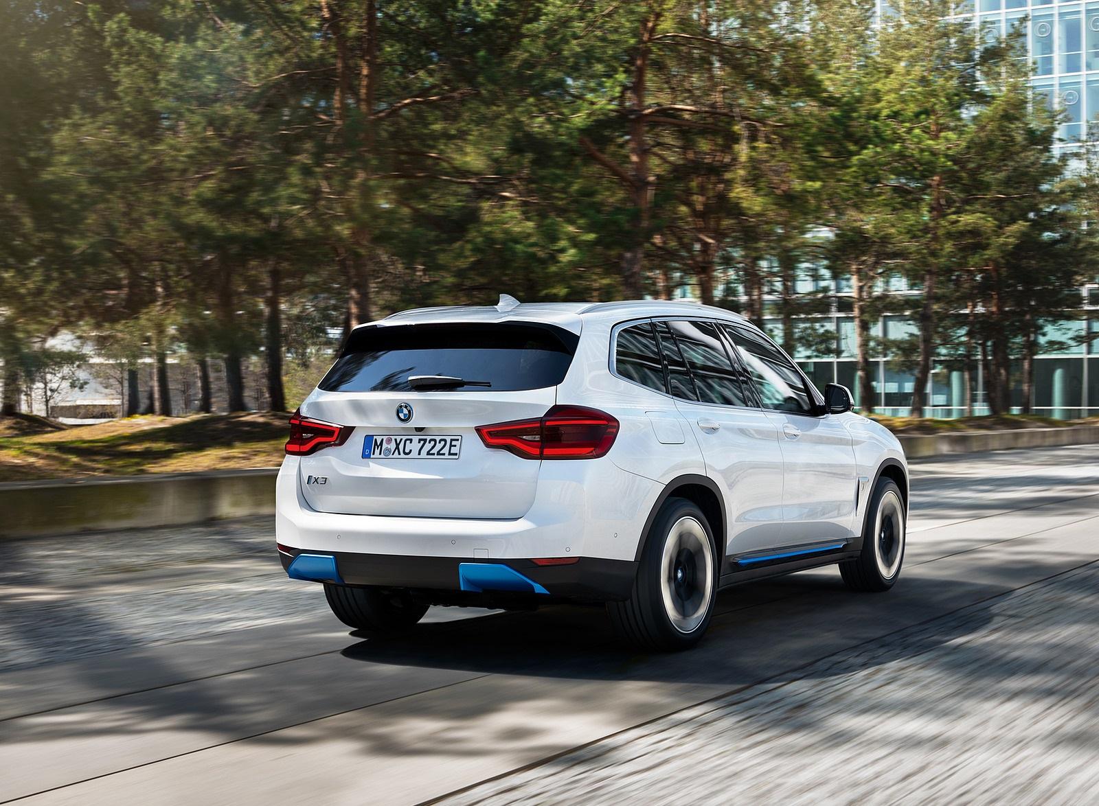 2021 BMW iX3 Rear Three-Quarter Wallpapers (6)