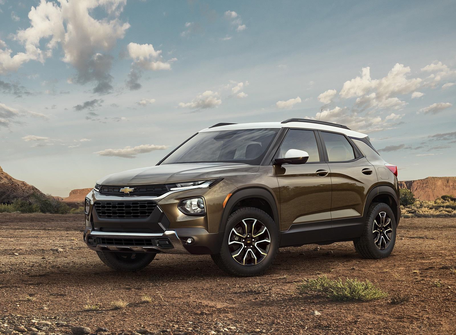 2021 Chevrolet Trailblazer ACTIV Front Three-Quarter Wallpapers (7)
