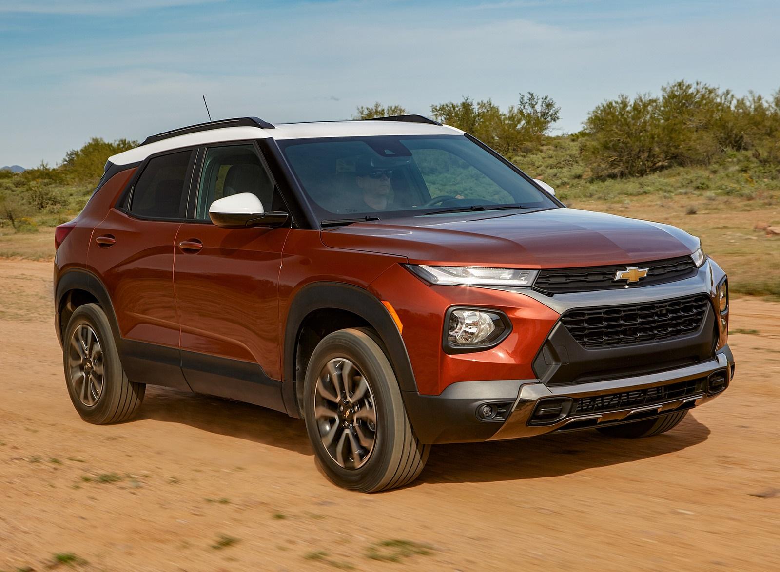 2021 Chevrolet Trailblazer ACTIV Front Three-Quarter Wallpapers (2)