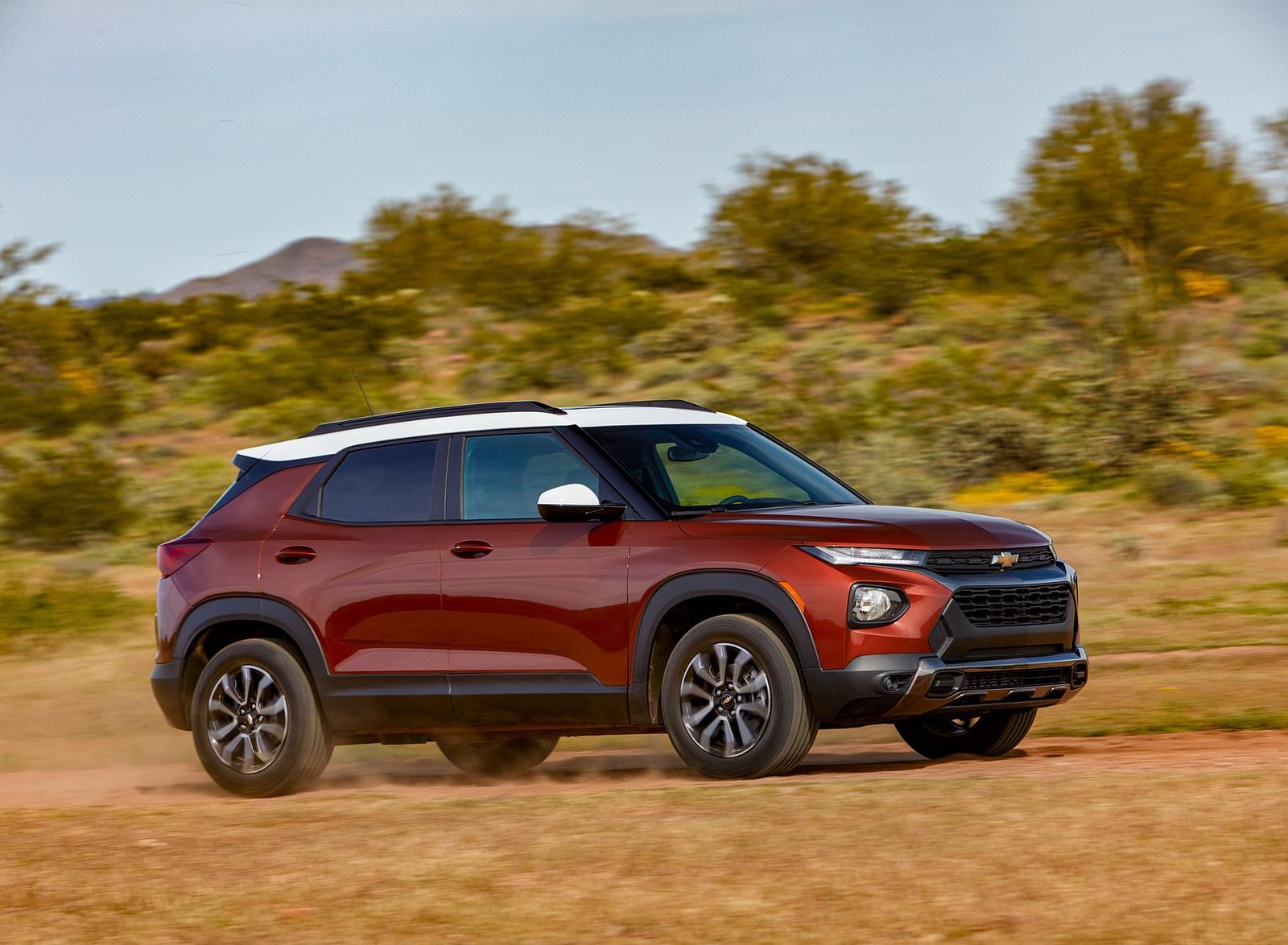 2021 Chevrolet Trailblazer ACTIV Front Three-Quarter Wallpapers (3)