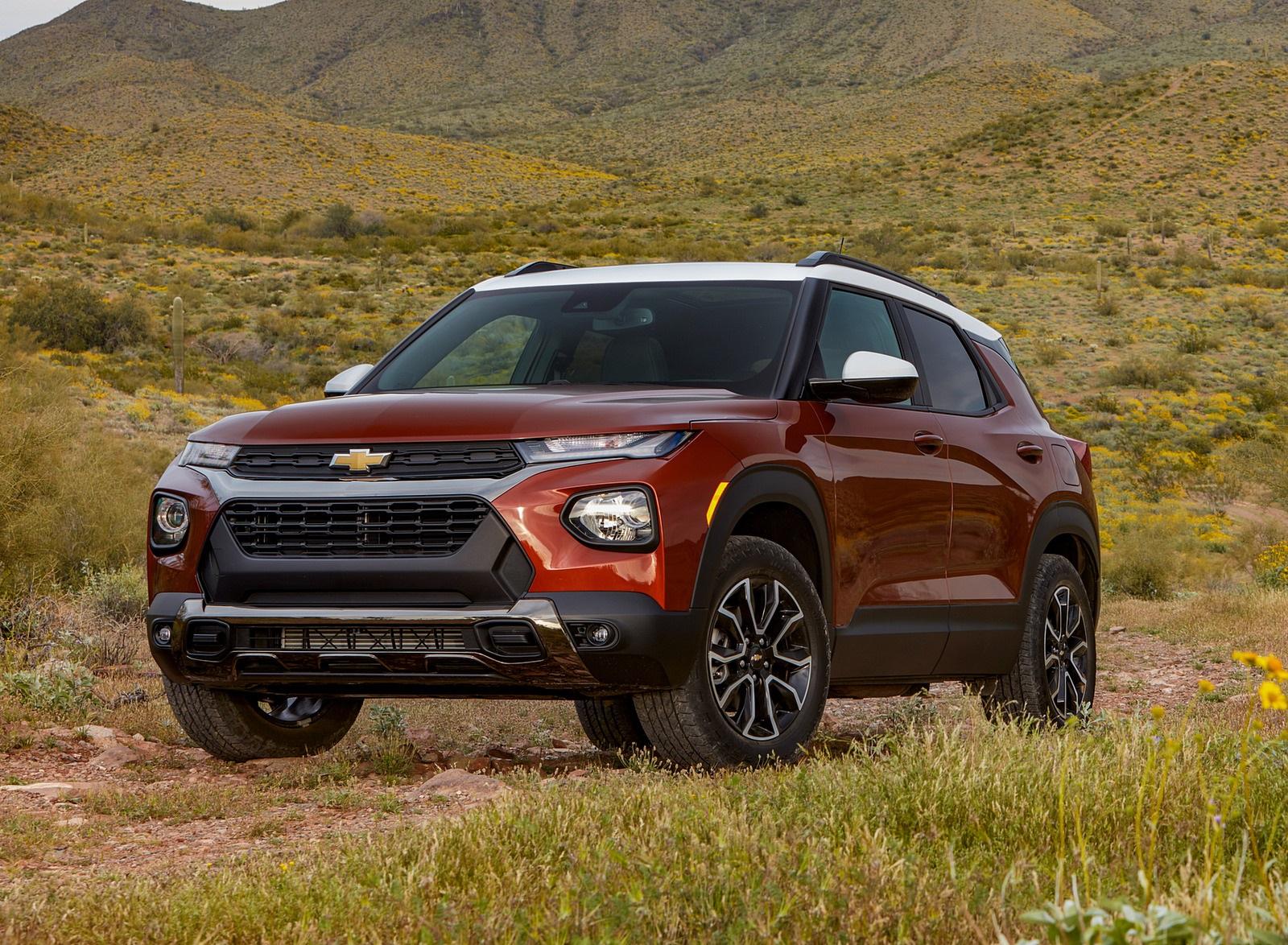 2021 Chevrolet Trailblazer ACTIV Front Three-Quarter Wallpapers (1)